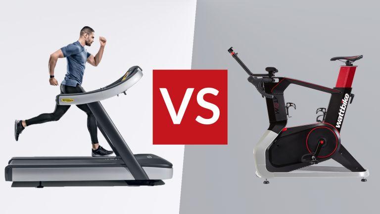 Stationary Bike or Treadmill